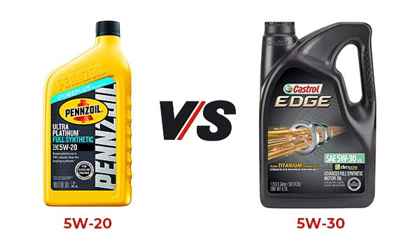 5w20 Vs 5w30 >> What Is The Difference Between 5w20 And 5w30 Oil Expert Answer