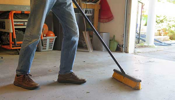 Clean Concrete Garage Floor