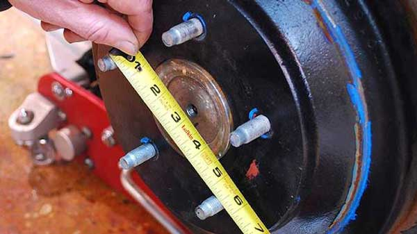How To Measure Rim Bolt Pattern
