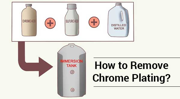 How to Remove Chrome Plating? See Different Ways!