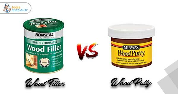 Wood Filler Vs Wood Putty