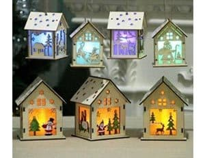 Wooden House Decorations