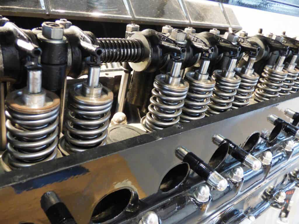 Automotive cyliners of a car engine
